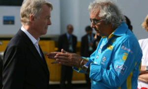 Briatore and Mosley to settle this in the fucking car park, alright?