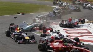 Hispania HRT Monza Liuzzi Crash
