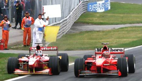 Paddock Schumacher affection back to '91 levels