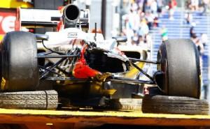 HRT crash test failure