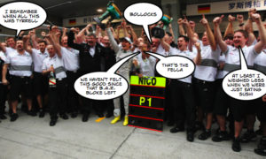 Mercedes GP make history