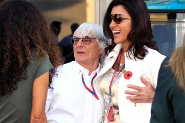 Ecclestone fiancé heart defect gamble blunder