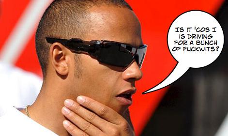 Lewis Hamilton Disqualified Barcelona 2012
