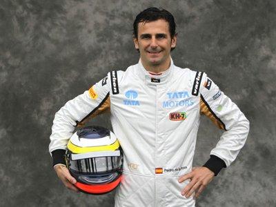 Schumacher 2012 pedro de la rosa hrt f1 2012