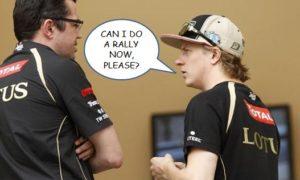 Kimi 2012 Lotus verdict in