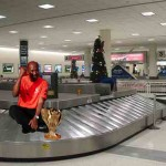 Lewis Hamilton 'baggage' spotted
