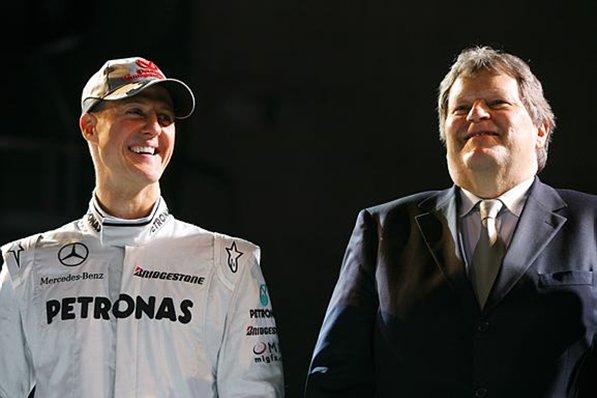 Michael Schumacher 2nd career penance for 1st