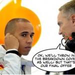 Mclaren increase Hamilton offer