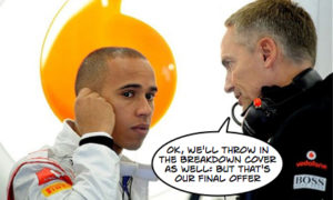 Mclaren increase Hamilton offer