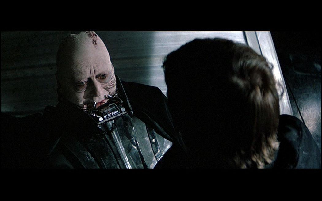 Schumacher basically Darth Vader