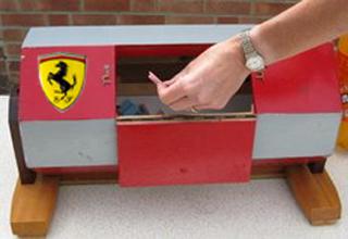 Ferrari launch F1 name generator device