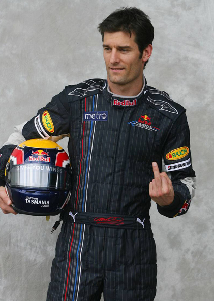 Mark Webber own-brand finger gesture launched