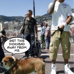 Hamilton told to ditch dog