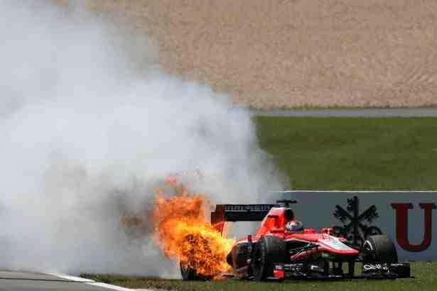 Marussia wondering if German GP metaphor overdoing it?