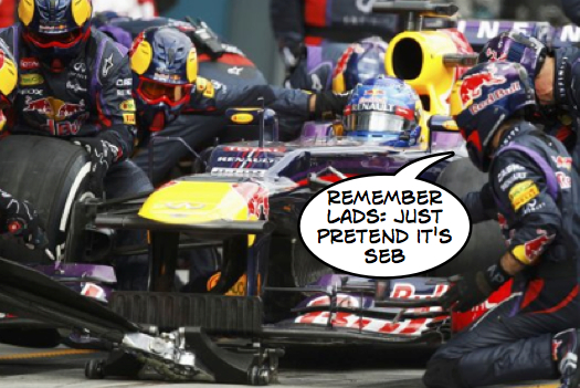 Red Bull solve Pitstop issues