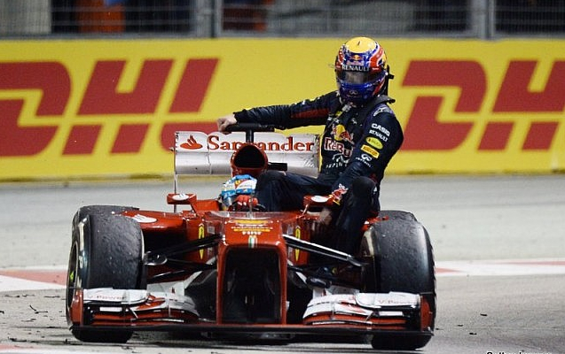 alonso webber singapore 2013