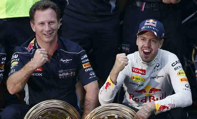 Excitement of fizzy drink motor racing history being made causes me unrelenting sexual joy, admits Christian Horner