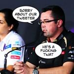 Lotus issue bad language apology