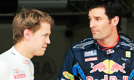 Webber deletes Vettel love poem