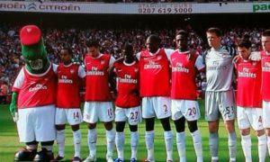Mclaren fans twinned with Arsenal