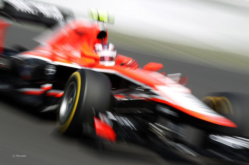 Max Chilton, 2013 Marussia MR02