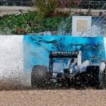 Mercedes get Hamilton to fix nose