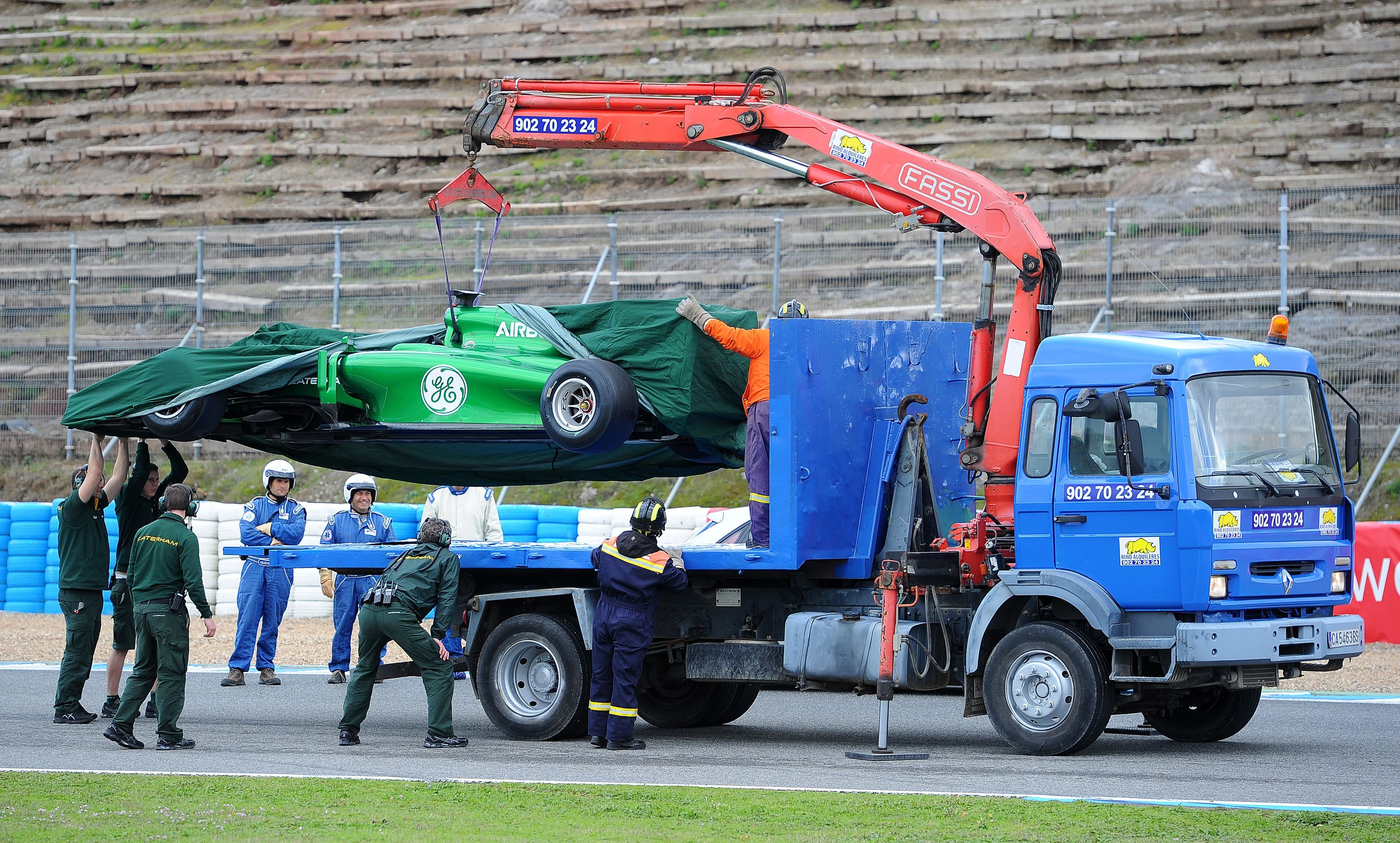 New F1 season uncertainty anxiety bolstered by Caterham and Marussia appallingness