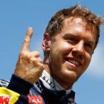 Vettel finger caught moonlighting