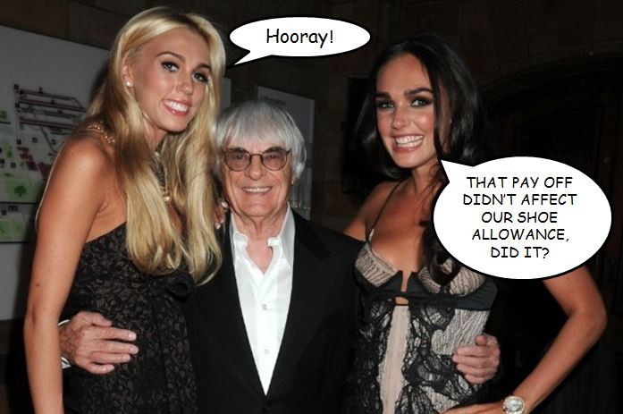Ecclestone bribery trial reaction
