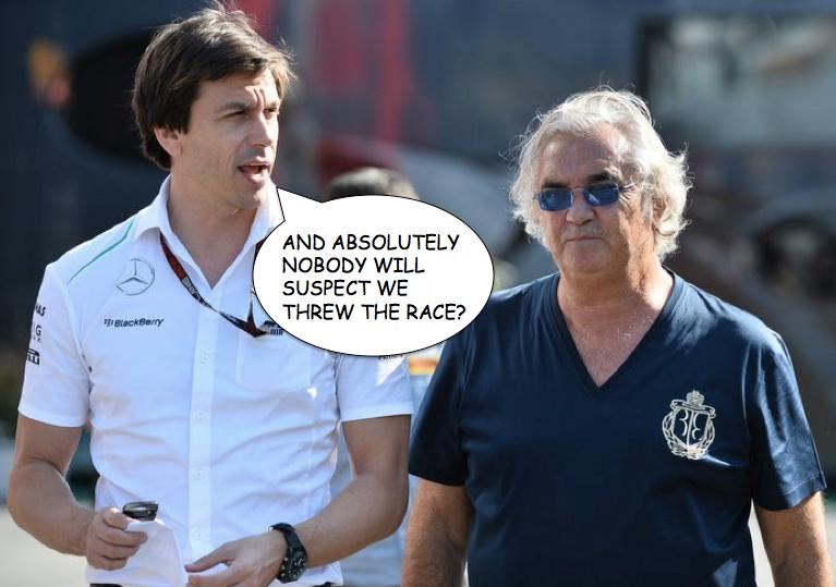 Briatore F1 advice impact felt