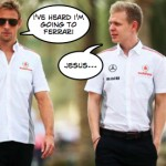 "Jenson Button ""misery"" sensation"