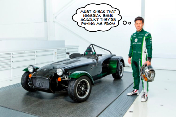 Kobayashi Abu Dhabi Caterham drive revealed