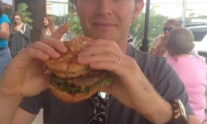 Does this Double Cheeseburger count as well, asks Rosberg?