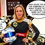 Carmen Jordá Lotus development role clarified