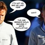 Alonso absence rekindling Button, Magnussen Mclaren memories