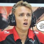 Marussia minus driver again