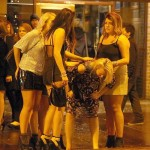 Bigg market lasses oversubscribe F1 dolly bird places
