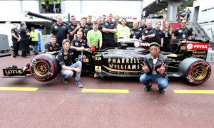 Verstappen just massive Blurred Lines fan