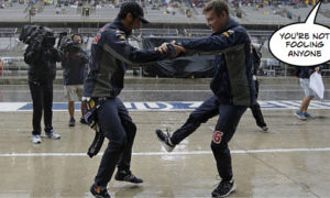 Red Bull engine gods dance ruse fails