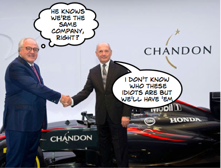 """New"" Mclaren sponsor delights bullish Dennis"