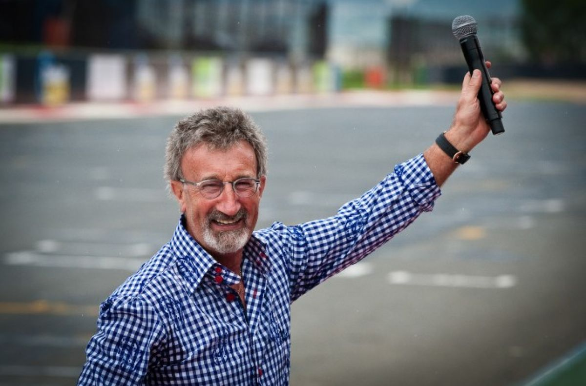 Eddie Jordan worried annoying dickhead level insufficient