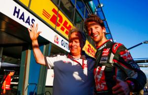 Romain Grosjean Haas Melbourne 2016