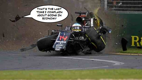 Alonso Mclaren heads defiantly for Bahrain