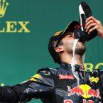 Daniel Ricciardo podium German Grand Prix