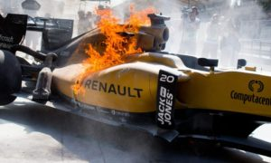 Magnussen executes Renault season metaphor