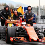 Orange paint faster McLaren theory failure