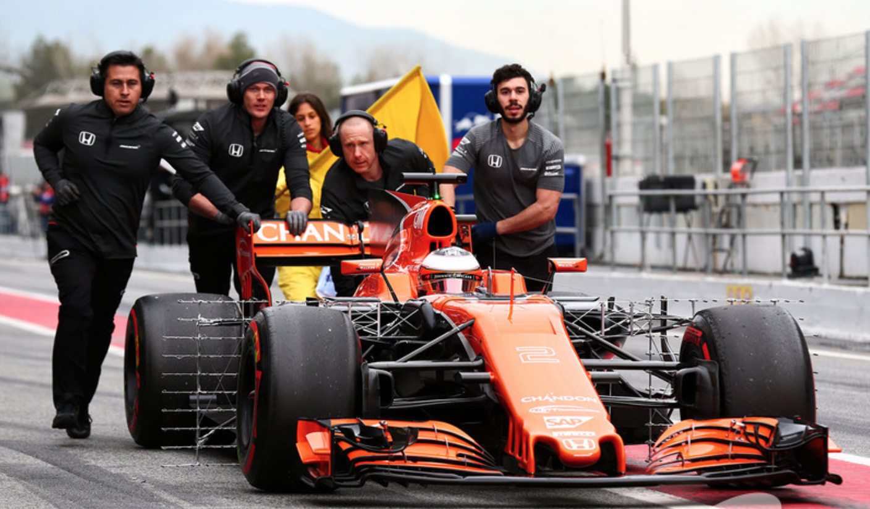 Orange paint faster McLaren theory failure