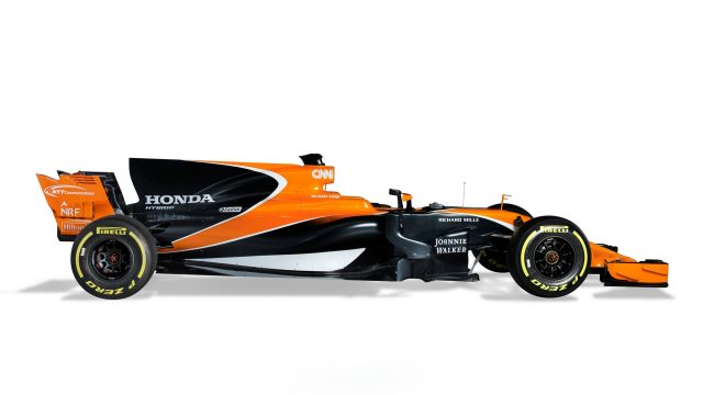Mclaren unveil Fernando Alonso career coffin colour