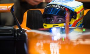 Because this is easier than sitting in a bathtub of beans, Alonso admits