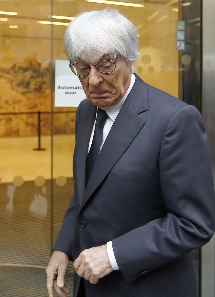 Bernie Ecclestone wakes up in body of an arsehole